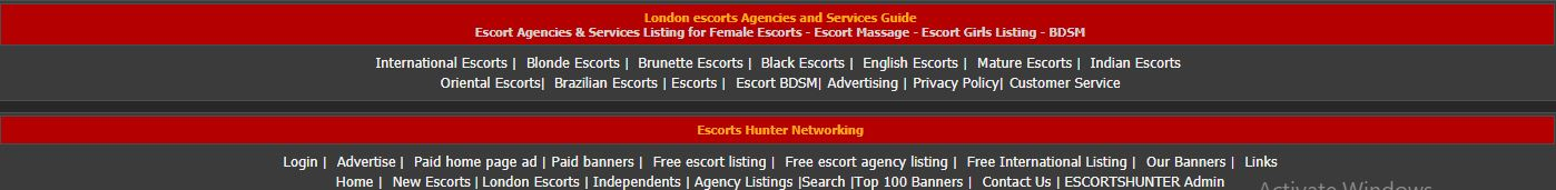 Escorts-Hunter.com review all banners