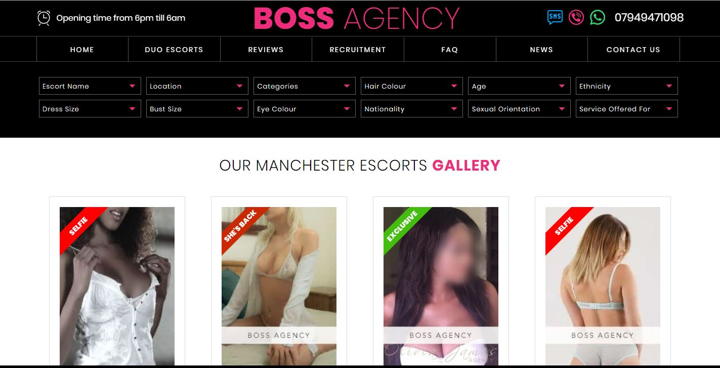 Boss Agency review homepage