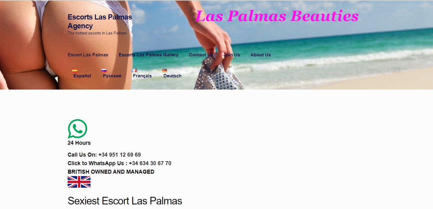 Escorts Las Palmas Review homepage
