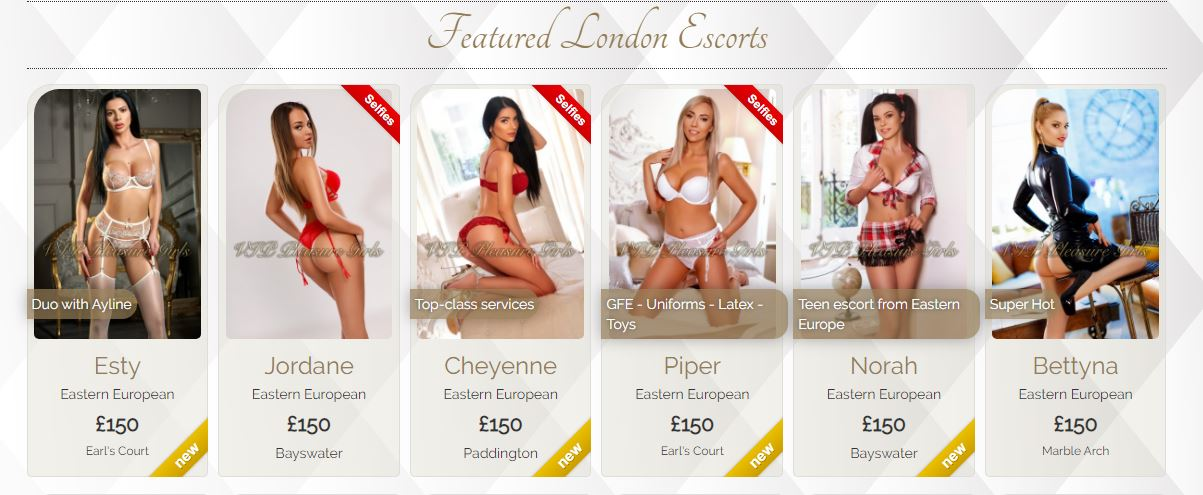 VIP Pleasure Girls Review London Escorts